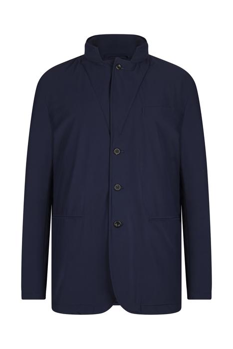 Padded coat dark night blue
