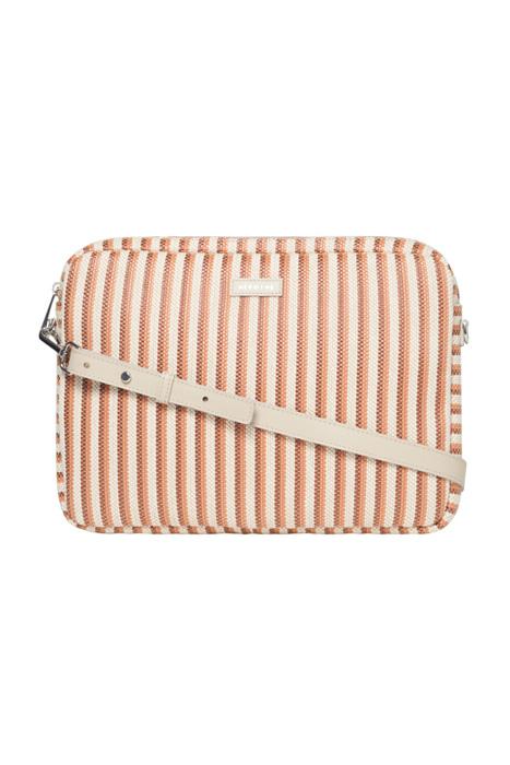 Jamie 13'' laptop striped/mandarine
