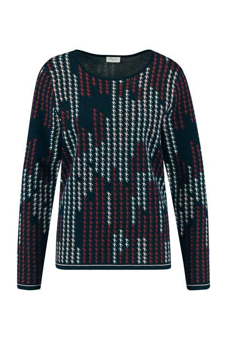 Jumper with a graphic pattern multicolor